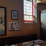 Inside Friars Cafe