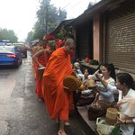 Photo of Alms Giving Ceremony