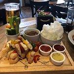 The sharing platter