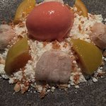 Blood orange dessert