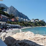 Marina Grande di Capri, panorama dal ristorante