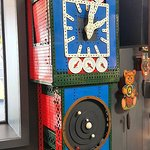 Even a full sized clock made from Meccano