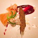 Mackerel Rillettes with Smoked Salmon