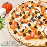 Рататуй (Шампиньоны, сладкий перец,  помидоры черри, оливки черные,  оливковое масло, сыр моцаре