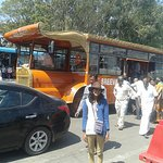 My sister at Tirupati Balaji Temple