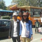 Me and my sister at Tirupati Balaji Temple