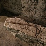 Dowsing rods in the crypt which you can try out.