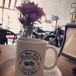 Vintage motorcycle cafè..