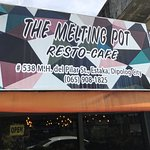 Sign for Melting Pot, Dipolog City Philippines