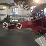 Réplica del avión del Barón Rojo