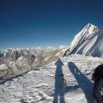 summit of Lobuche
