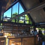 Stukje van de moderne bar