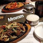 Beef Bool Go Ghee and Spicy Pork Bokum