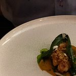 Veal sweetbread, Apricot and Wild Garlic
