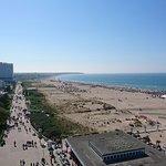Toller Blick zum Strand