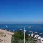 Blick in die Hafeneinfahrt
