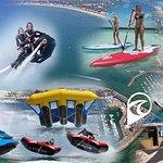 jet-ski, bouée tractée, flyride, flyboard, stand up paddle, kitesurf