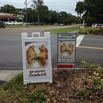 Curbside signs