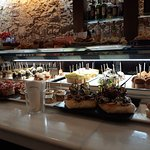 Selection of pintxos and tapas