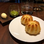 The delicate brioche with subtle roasted tomato relish and Norman butter was like pre-dessert