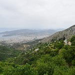 Mount Pelion - view of Volos from Makrinitsa