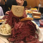 Extra large Pastrami-gotta have those leftovers!