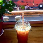 The Stick in the Mud Cold House Brew (with paper straw!)