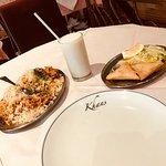 "Nice dinner at Khan's"""