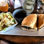 Beef Dip with Side Caesar