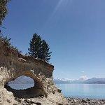 Morgan's Island, Lake Pukaki. Featuring Arokai Mount Cook