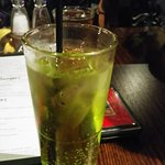 Midori and lemonade.