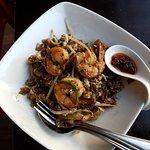 The most amazing noodles with shrimp.