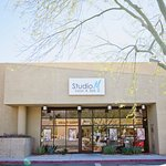 Our location in South Palm Springs with plenty of available parking