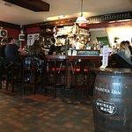 The bar in the Marina Inn