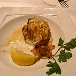 Crab cake appetizer- worth every penny