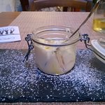 Lemon cake/custard