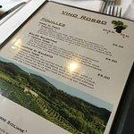 Carte de vins: bon choix à prix raisonnables