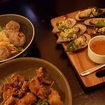 VN Pork balls, Mussels and Soft Shell Crab