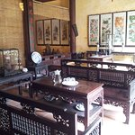 Well preserved furnitures at Quang Thanh Old House, Hoi An