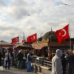 Eminonu fish boats are one of the most great food experience you must have in Istanbul
