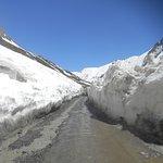 Snow Tunnel on Zozila Pass