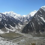 View of Baltal Valley from Zozila Pass