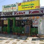 Cozy Garden Cafe at town....