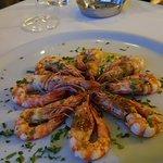 Γαρίδες απο τα πολύ καλα πιάτα