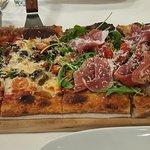 1/2 Vegetariana and 1/2 Vegas Meets Italy
