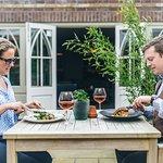 Dine Al Fresco on our sun-kissed terrace.