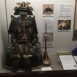 Samurai Armour on display in castle