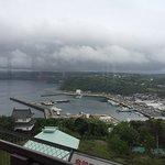 View of the Bay and the Nagasaki Kendorokoushahirado Bridge