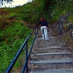 Escalera de acceso.