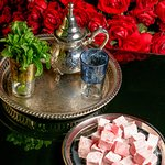 mint tea and turkish delight by Azar